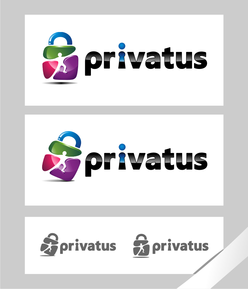 Logo Design by graphicleaf - Entry No. 114 in the Logo Design Contest New Logo Design for privatus.