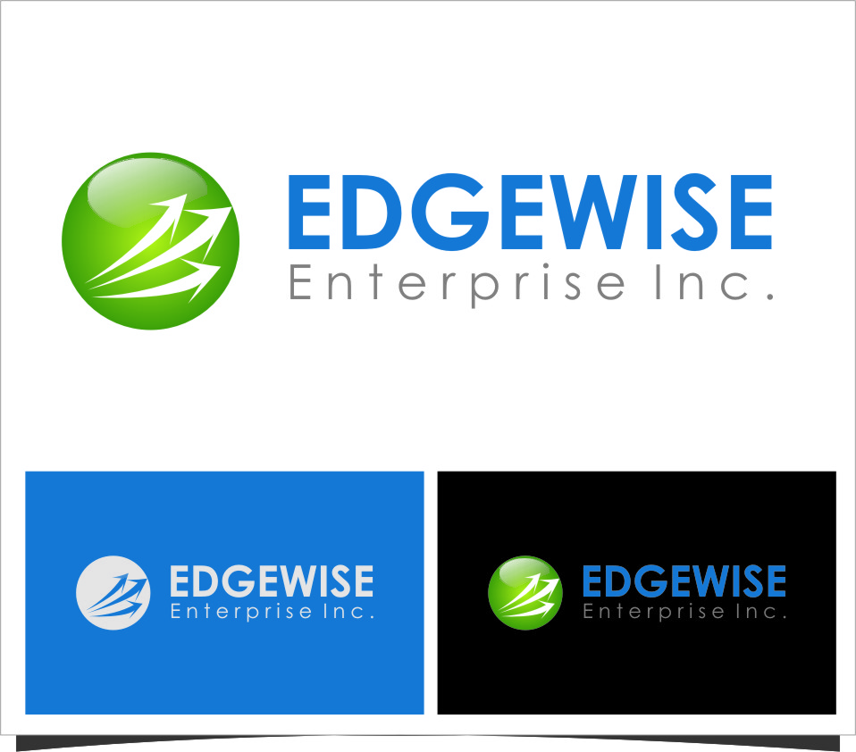 Logo Design by RasYa Muhammad Athaya - Entry No. 57 in the Logo Design Contest New Logo Design for Edgewise Enterprises Inc..