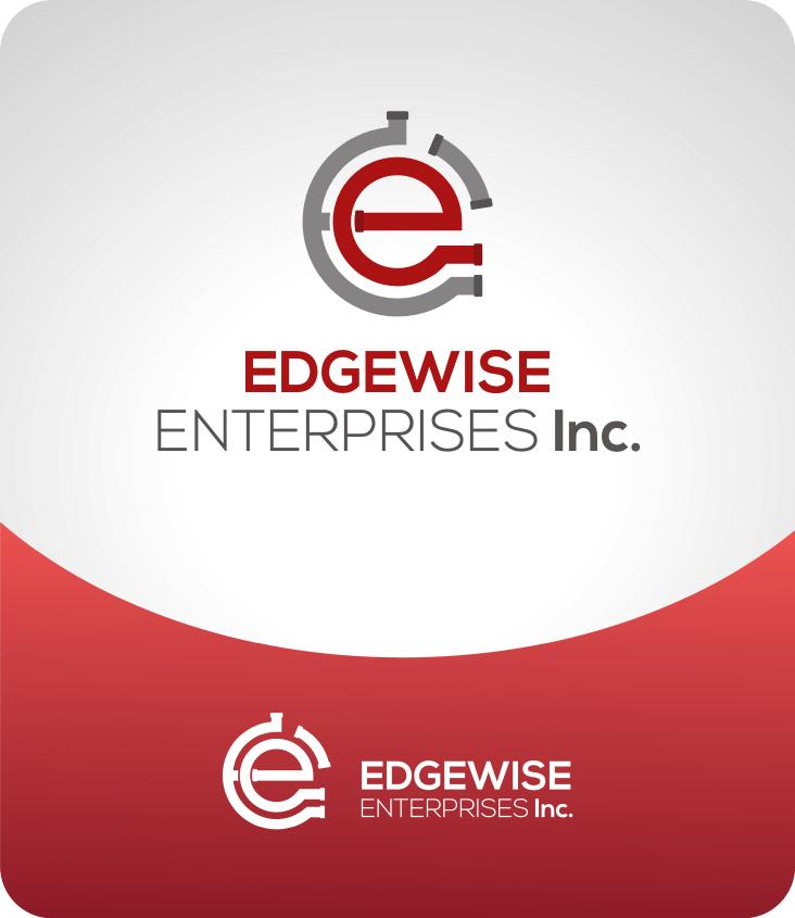 Logo Design by luvrenz - Entry No. 58 in the Logo Design Contest New Logo Design for Edgewise Enterprises Inc..