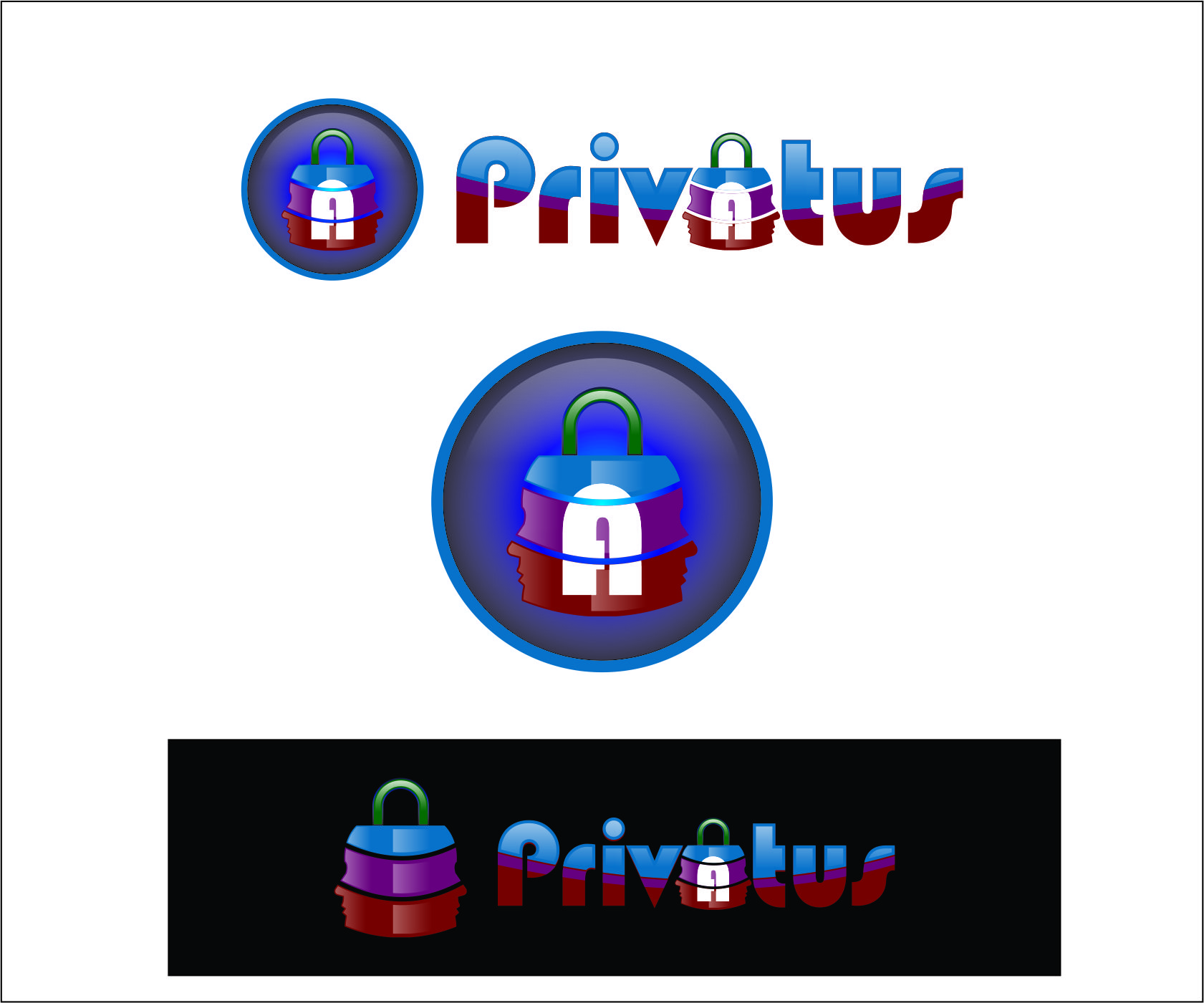 Logo Design by Agus Martoyo - Entry No. 121 in the Logo Design Contest New Logo Design for privatus.