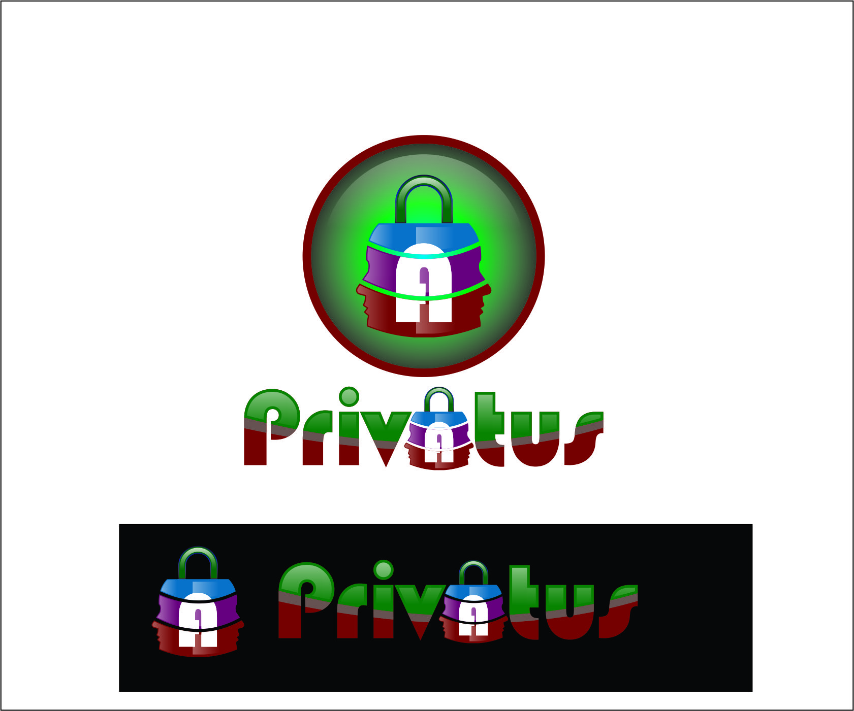 Logo Design by Agus Martoyo - Entry No. 123 in the Logo Design Contest New Logo Design for privatus.