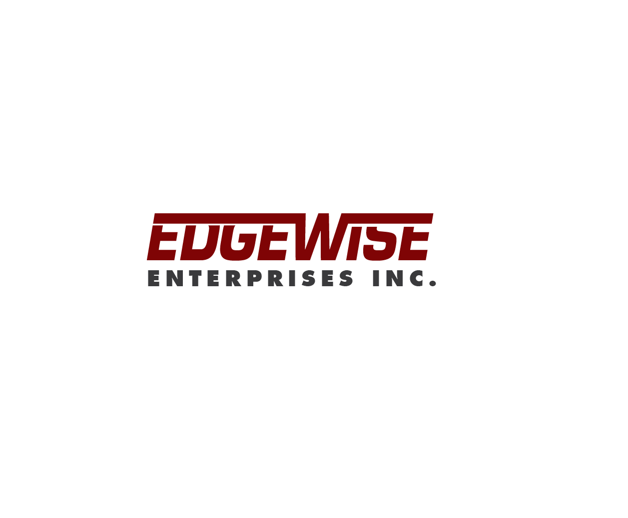 Logo Design by iwyn - Entry No. 62 in the Logo Design Contest New Logo Design for Edgewise Enterprises Inc..