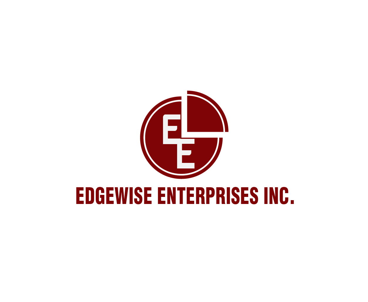 Logo Design by iwyn - Entry No. 63 in the Logo Design Contest New Logo Design for Edgewise Enterprises Inc..