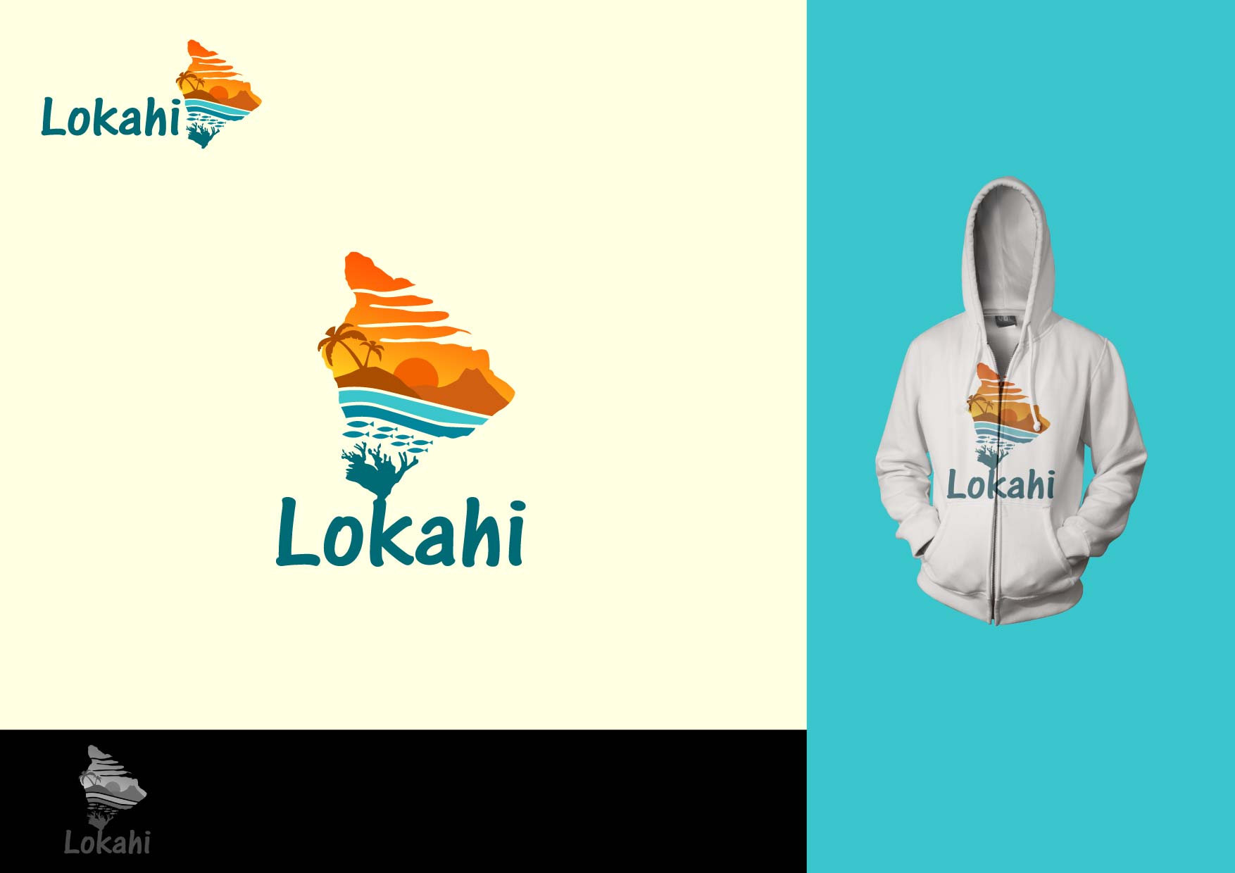 Logo Design by Osi Indra - Entry No. 82 in the Logo Design Contest  Epic Logo Design for LOKAHI designs.