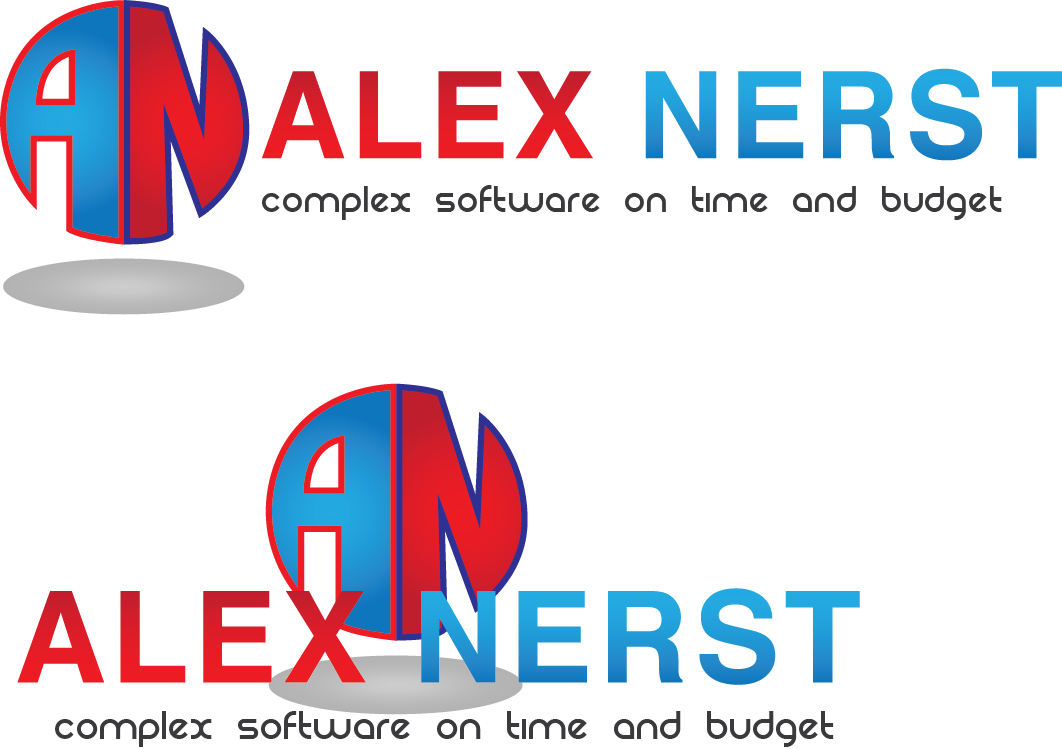 Logo Design by Jonathan Aclado - Entry No. 2 in the Logo Design Contest Artistic Logo Design for Alex Nerst.