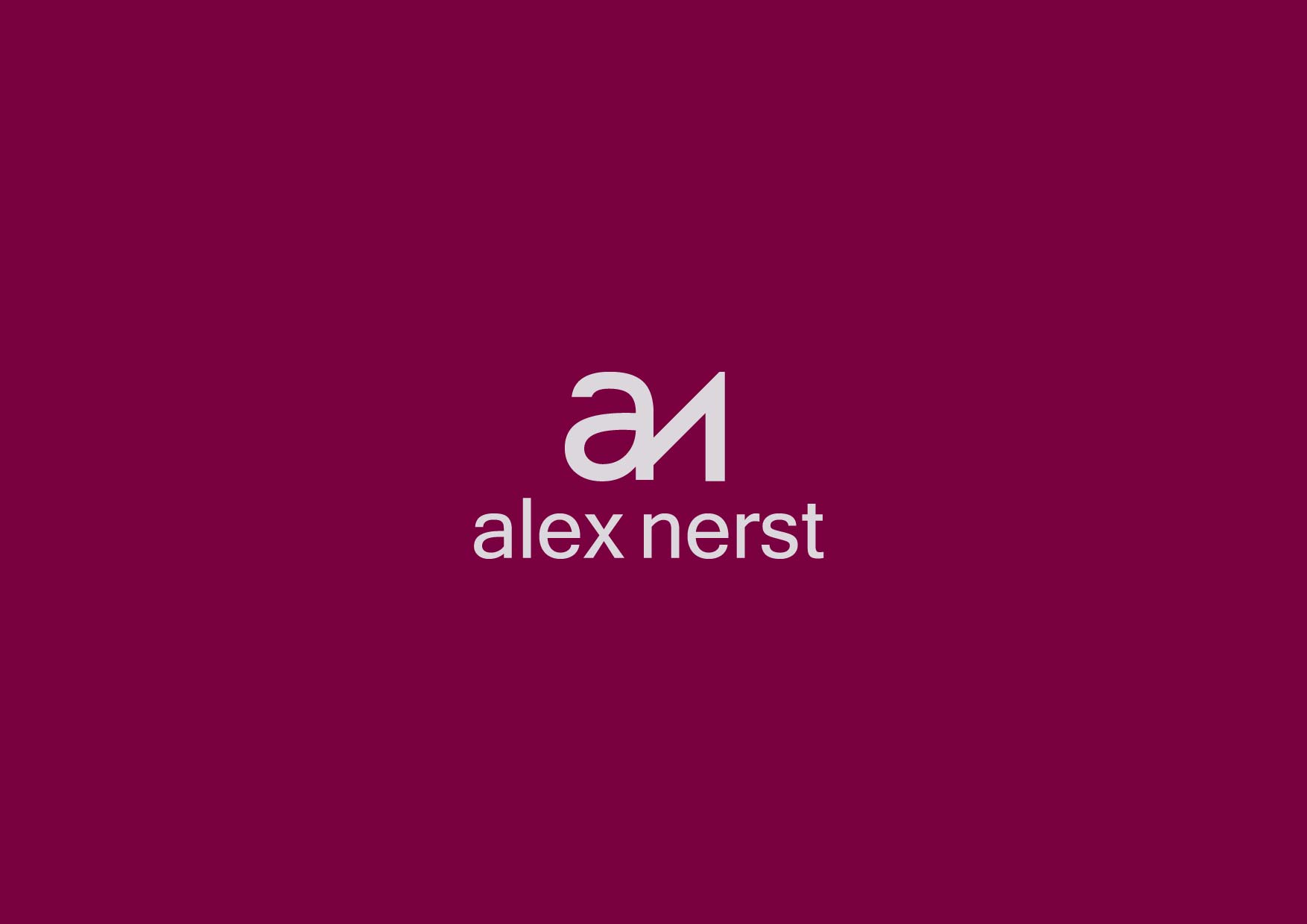 Logo Design by Osi Indra - Entry No. 3 in the Logo Design Contest Artistic Logo Design for Alex Nerst.