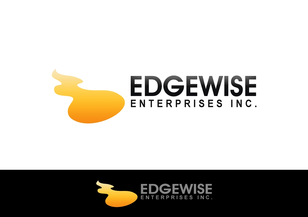 Logo Design by Respati Himawan - Entry No. 69 in the Logo Design Contest New Logo Design for Edgewise Enterprises Inc..
