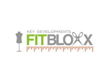 Logo Design by asti - Entry No. 123 in the Logo Design Contest FitBloxx (creating block fits for the apparel industry).