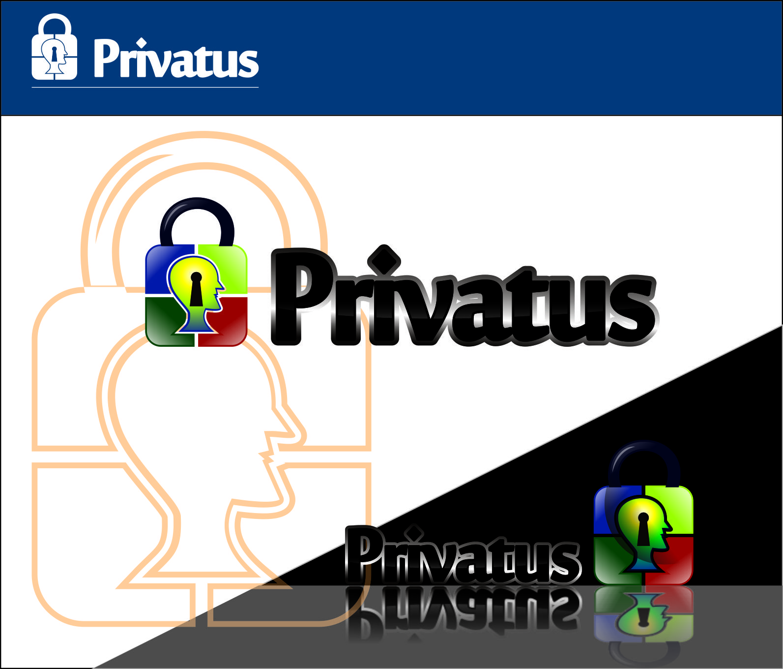Logo Design by Agus Martoyo - Entry No. 143 in the Logo Design Contest New Logo Design for privatus.