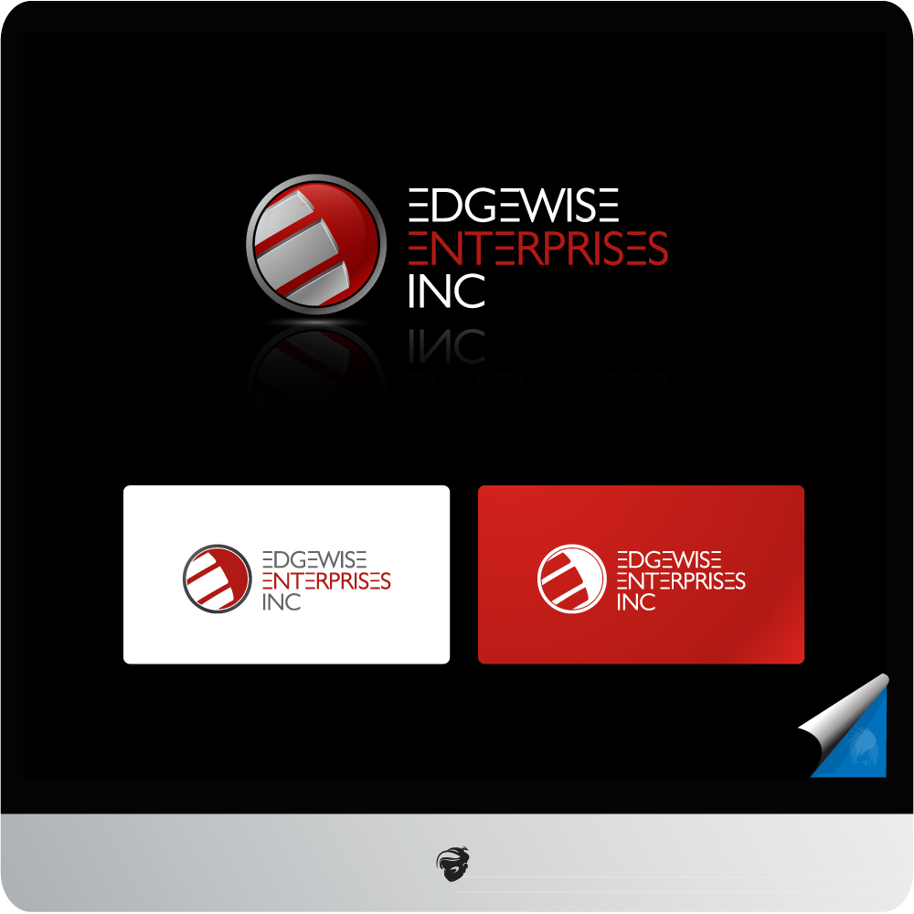 Logo Design by zesthar - Entry No. 70 in the Logo Design Contest New Logo Design for Edgewise Enterprises Inc..