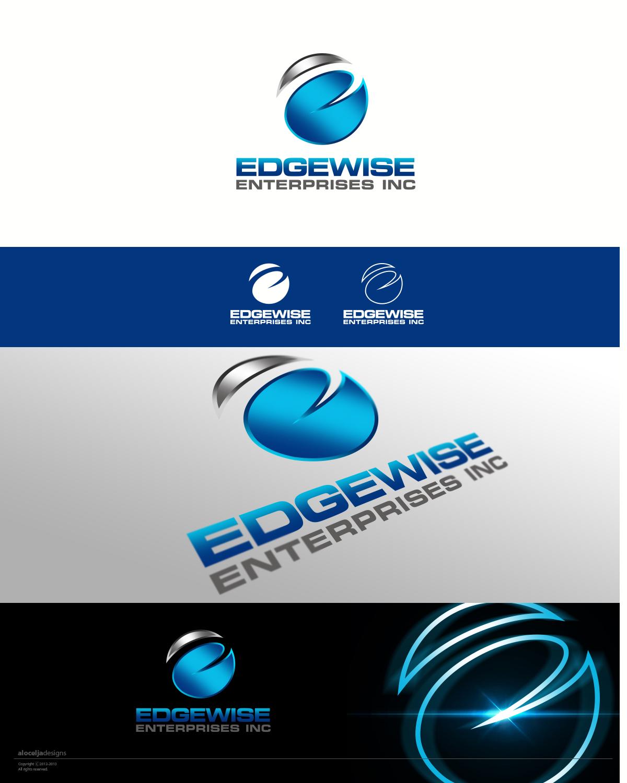 Logo Design by alocelja - Entry No. 71 in the Logo Design Contest New Logo Design for Edgewise Enterprises Inc..