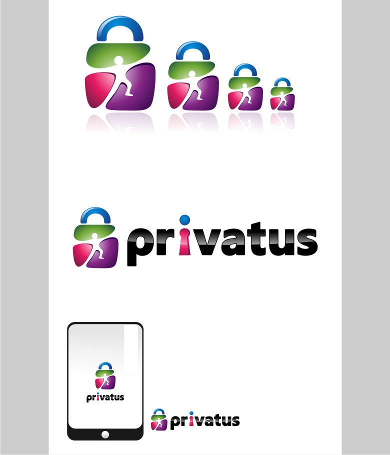 Logo Design by graphicleaf - Entry No. 151 in the Logo Design Contest New Logo Design for privatus.