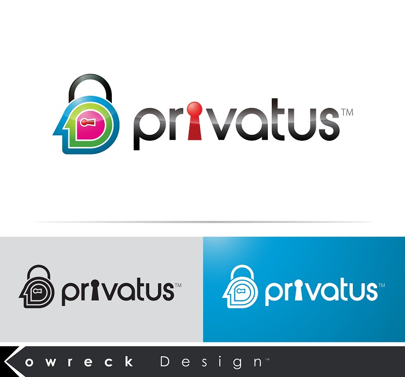 Logo Design by kowreck - Entry No. 152 in the Logo Design Contest New Logo Design for privatus.