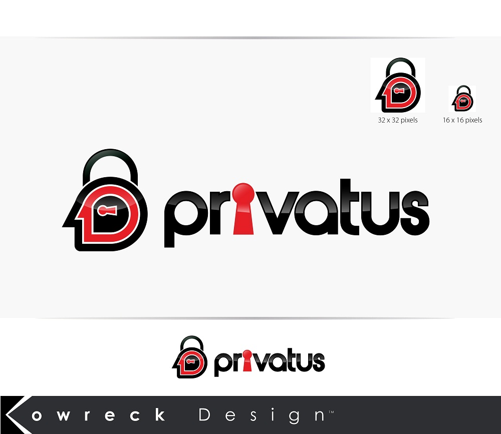 Logo Design by kowreck - Entry No. 157 in the Logo Design Contest New Logo Design for privatus.