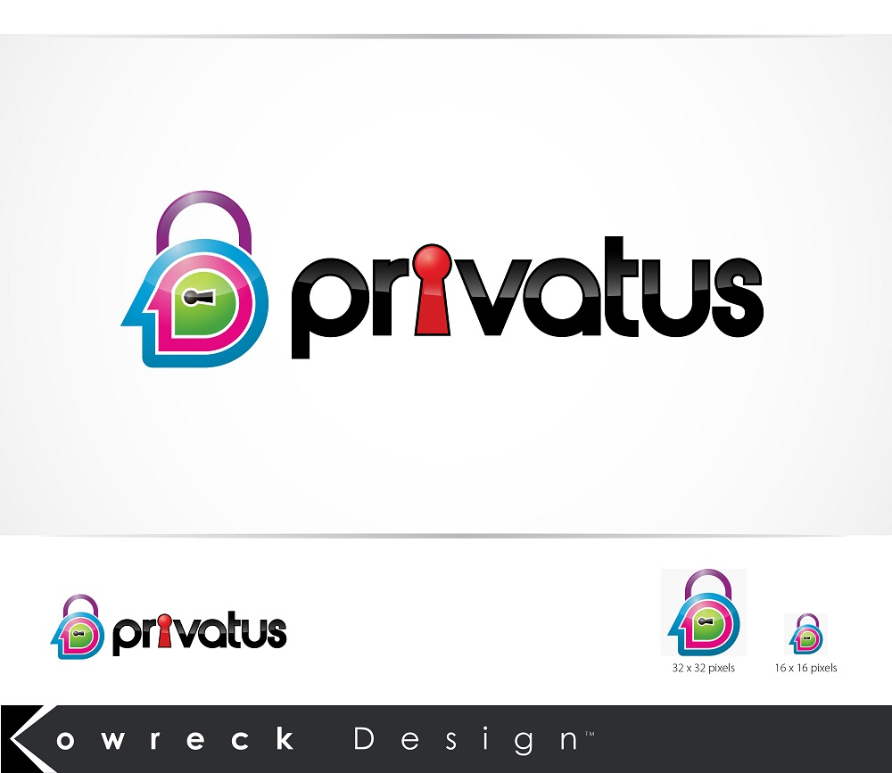 Logo Design by kowreck - Entry No. 159 in the Logo Design Contest New Logo Design for privatus.