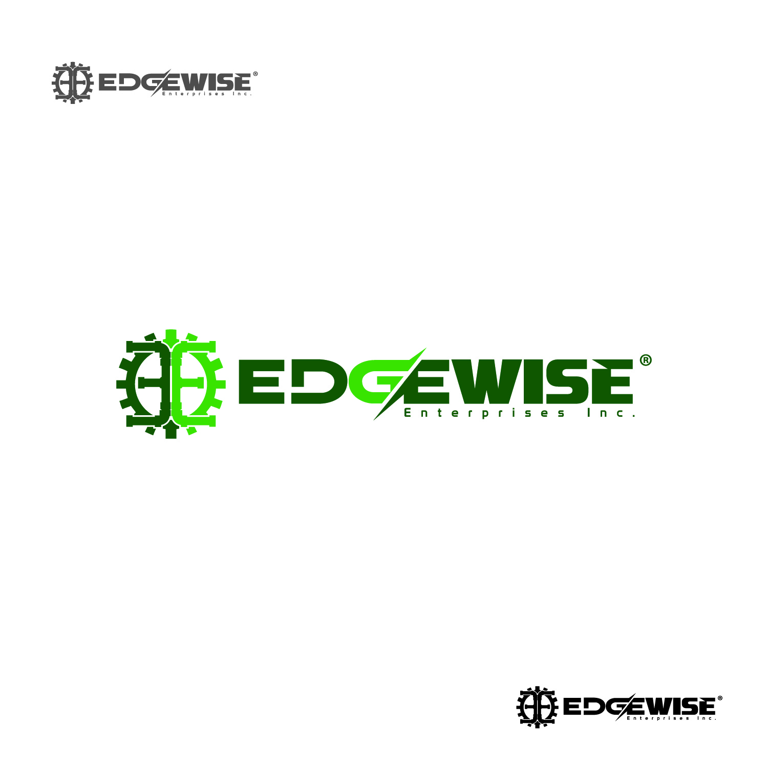 Logo Design by lagalag - Entry No. 74 in the Logo Design Contest New Logo Design for Edgewise Enterprises Inc..