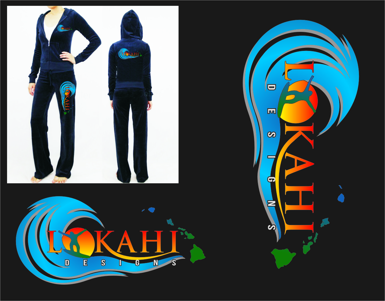 Logo Design by RasYa Muhammad Athaya - Entry No. 89 in the Logo Design Contest  Epic Logo Design for LOKAHI designs.