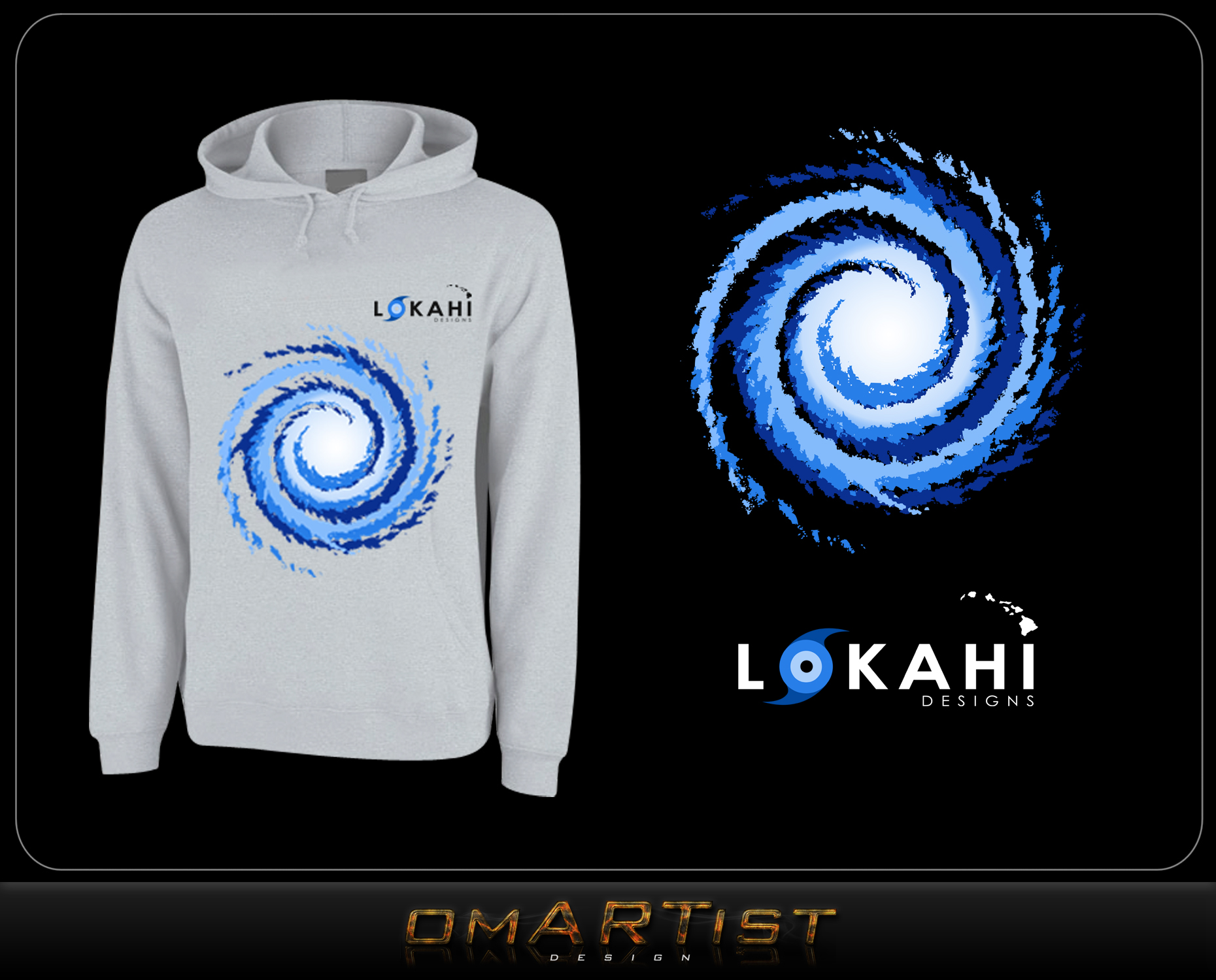 Logo Design by omARTist - Entry No. 92 in the Logo Design Contest  Epic Logo Design for LOKAHI designs.