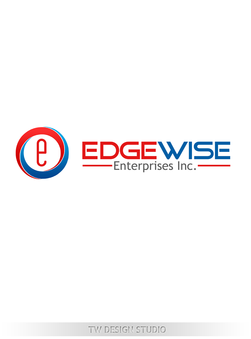 Logo Design by Robert Turla - Entry No. 77 in the Logo Design Contest New Logo Design for Edgewise Enterprises Inc..