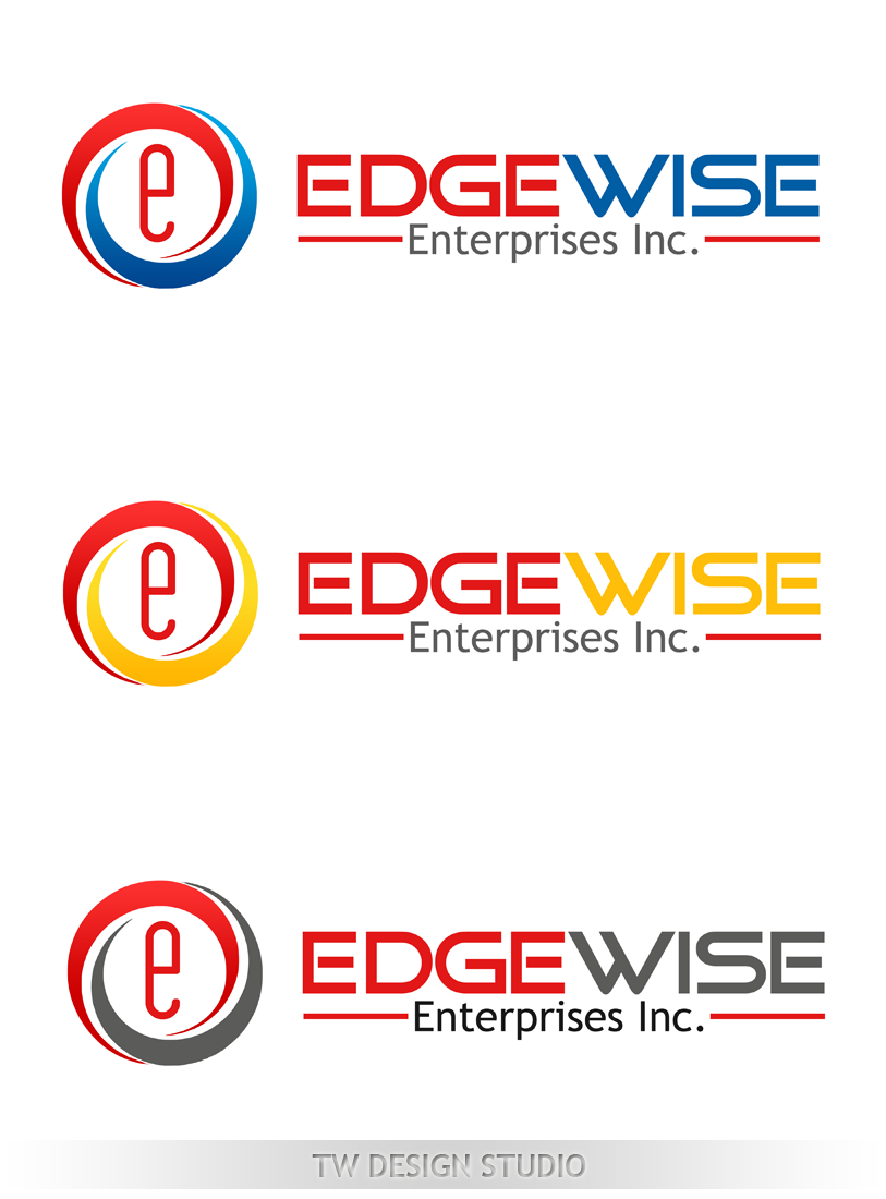 Logo Design by Private User - Entry No. 78 in the Logo Design Contest New Logo Design for Edgewise Enterprises Inc..