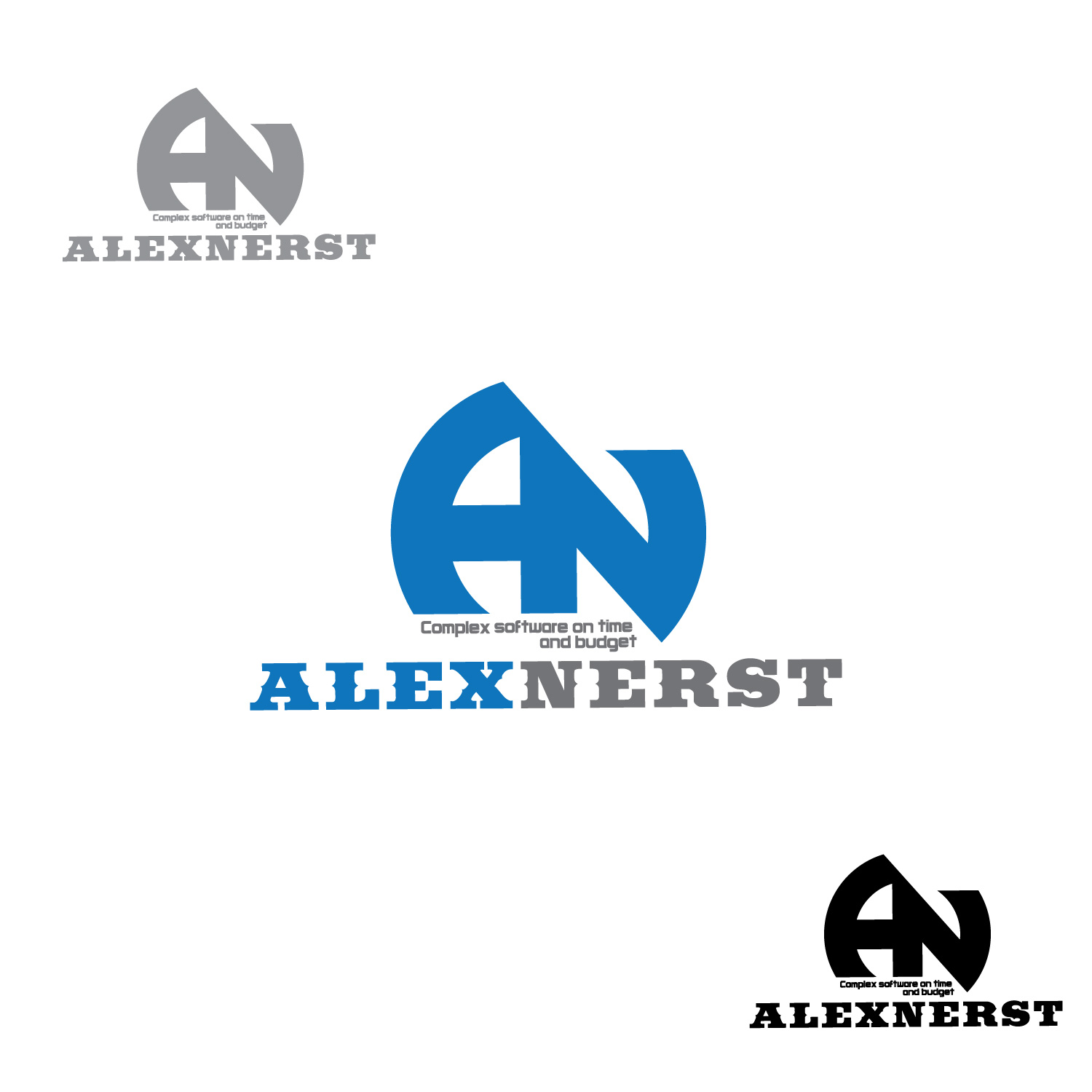 Logo Design by lagalag - Entry No. 10 in the Logo Design Contest Artistic Logo Design for Alex Nerst.