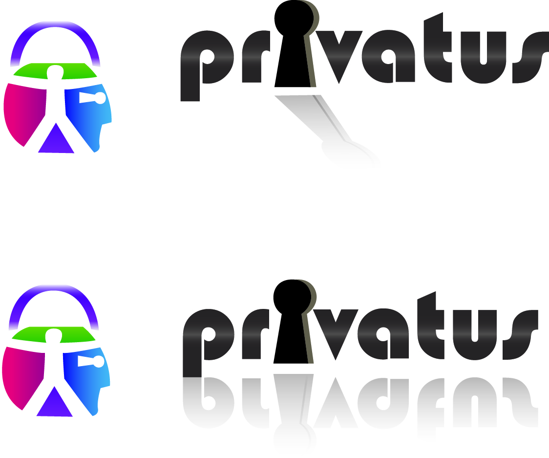 Logo Design by Jonathan Aclado - Entry No. 171 in the Logo Design Contest New Logo Design for privatus.