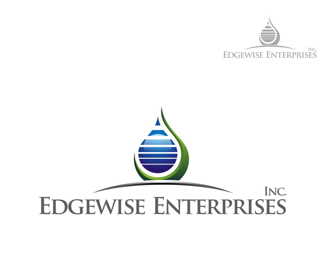 Logo Design by Reivan Ferdinan - Entry No. 80 in the Logo Design Contest New Logo Design for Edgewise Enterprises Inc..