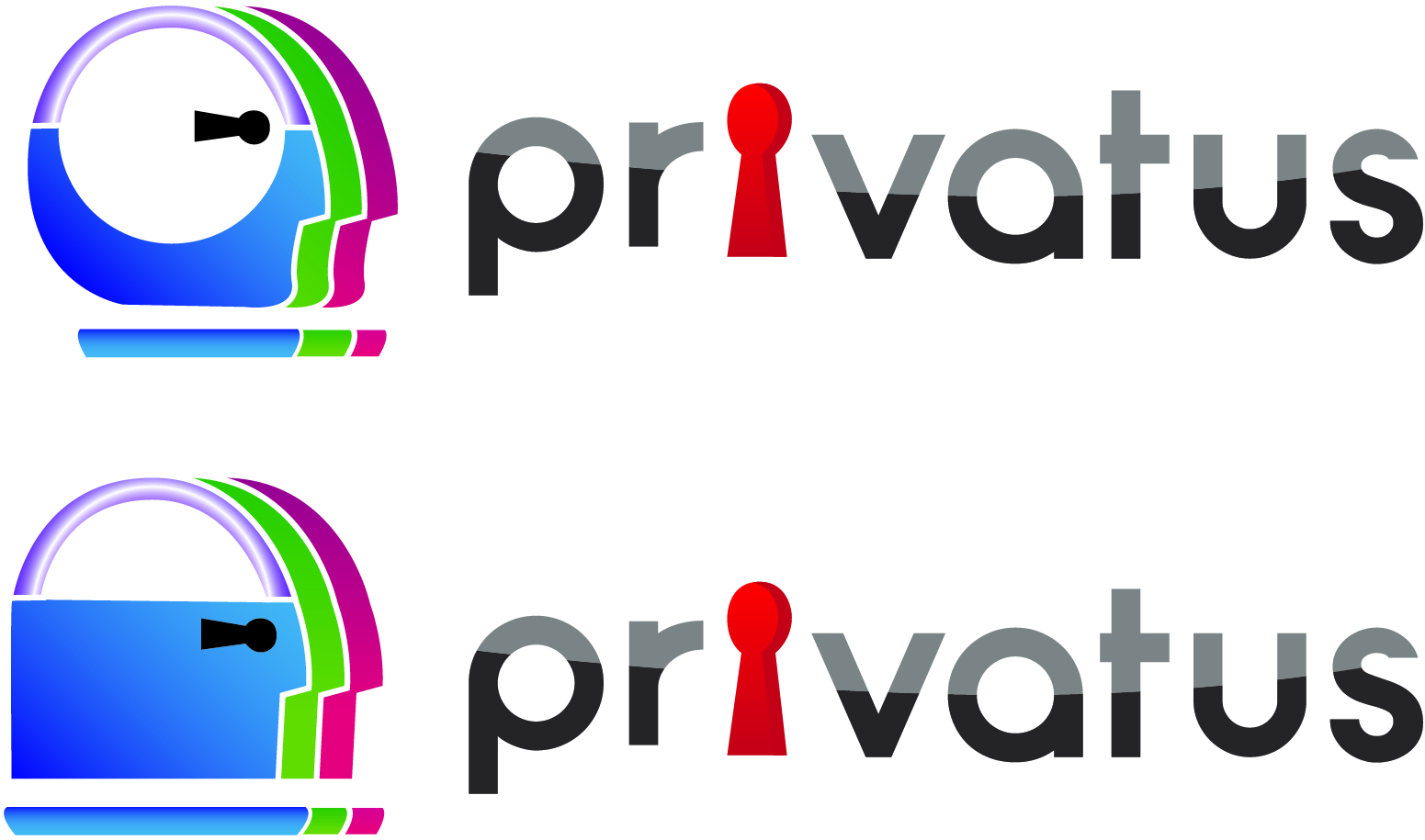 Logo Design by Jonathan Aclado - Entry No. 173 in the Logo Design Contest New Logo Design for privatus.