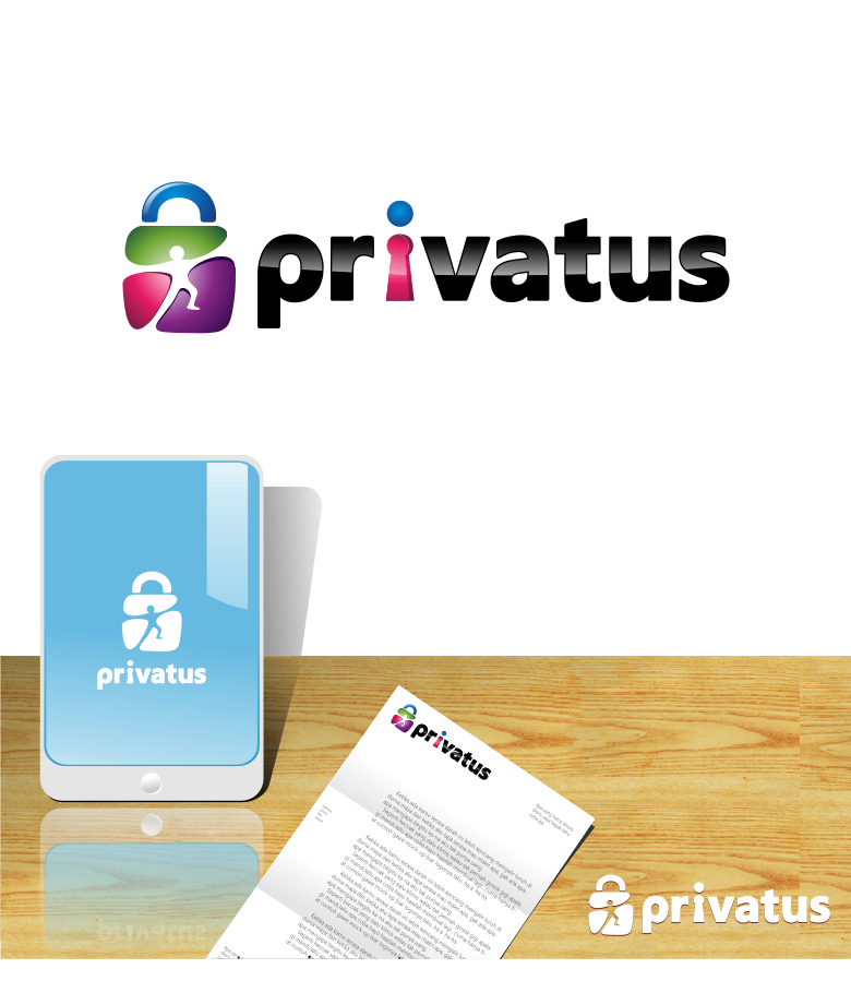 Logo Design by graphicleaf - Entry No. 175 in the Logo Design Contest New Logo Design for privatus.