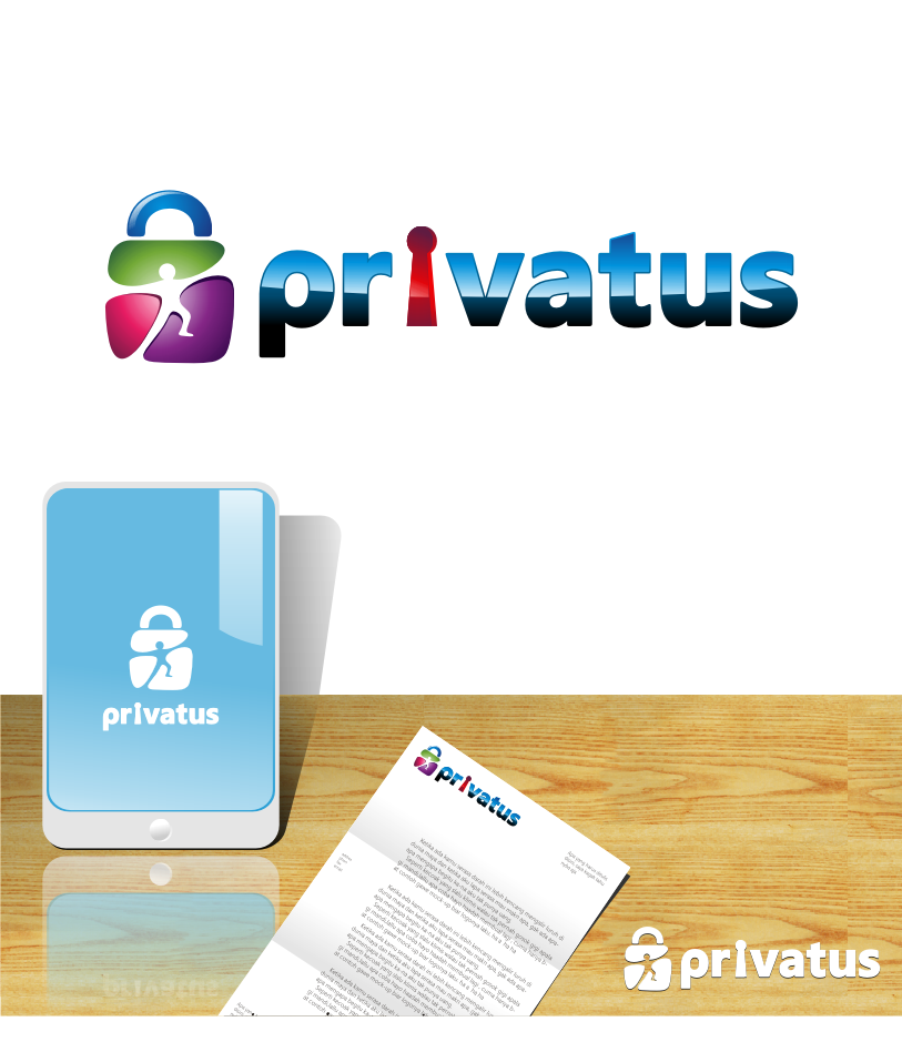 Logo Design by graphicleaf - Entry No. 179 in the Logo Design Contest New Logo Design for privatus.