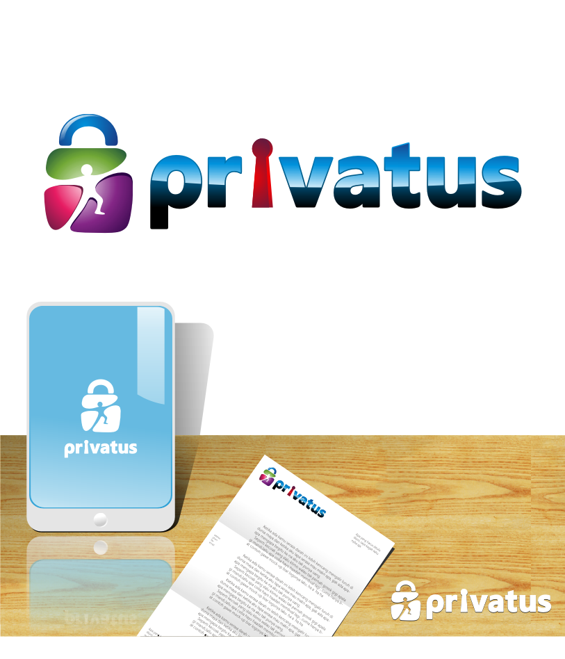 Logo Design by graphicleaf - Entry No. 180 in the Logo Design Contest New Logo Design for privatus.