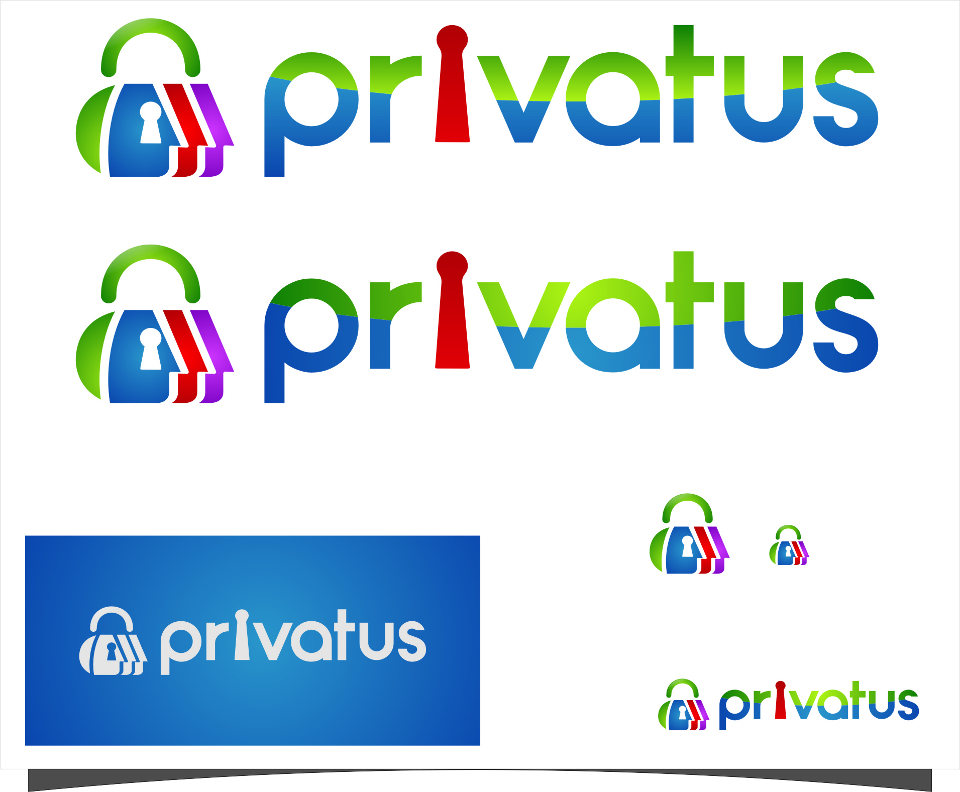 Logo Design by Ngepet_art - Entry No. 187 in the Logo Design Contest New Logo Design for privatus.