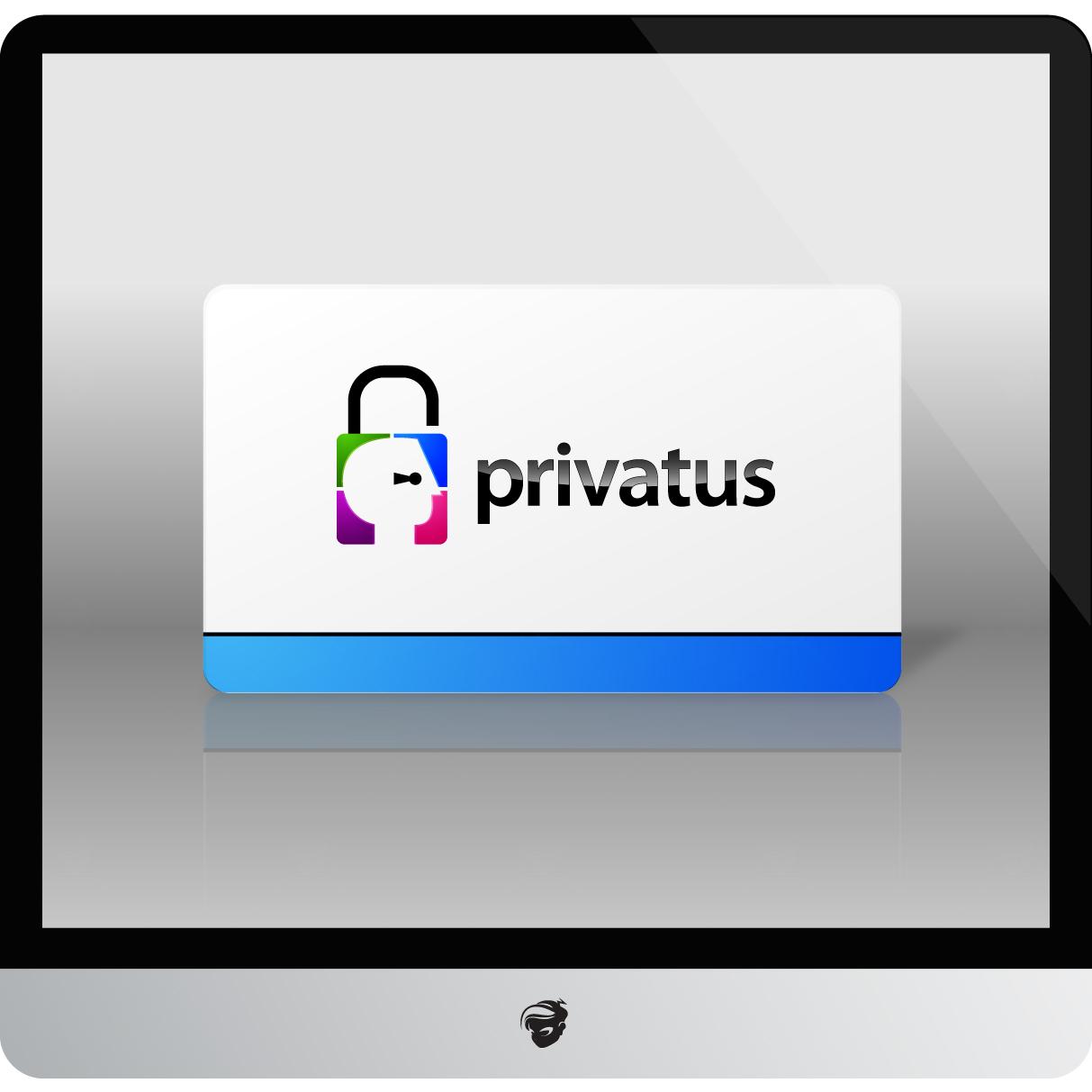 Logo Design by zesthar - Entry No. 190 in the Logo Design Contest New Logo Design for privatus.