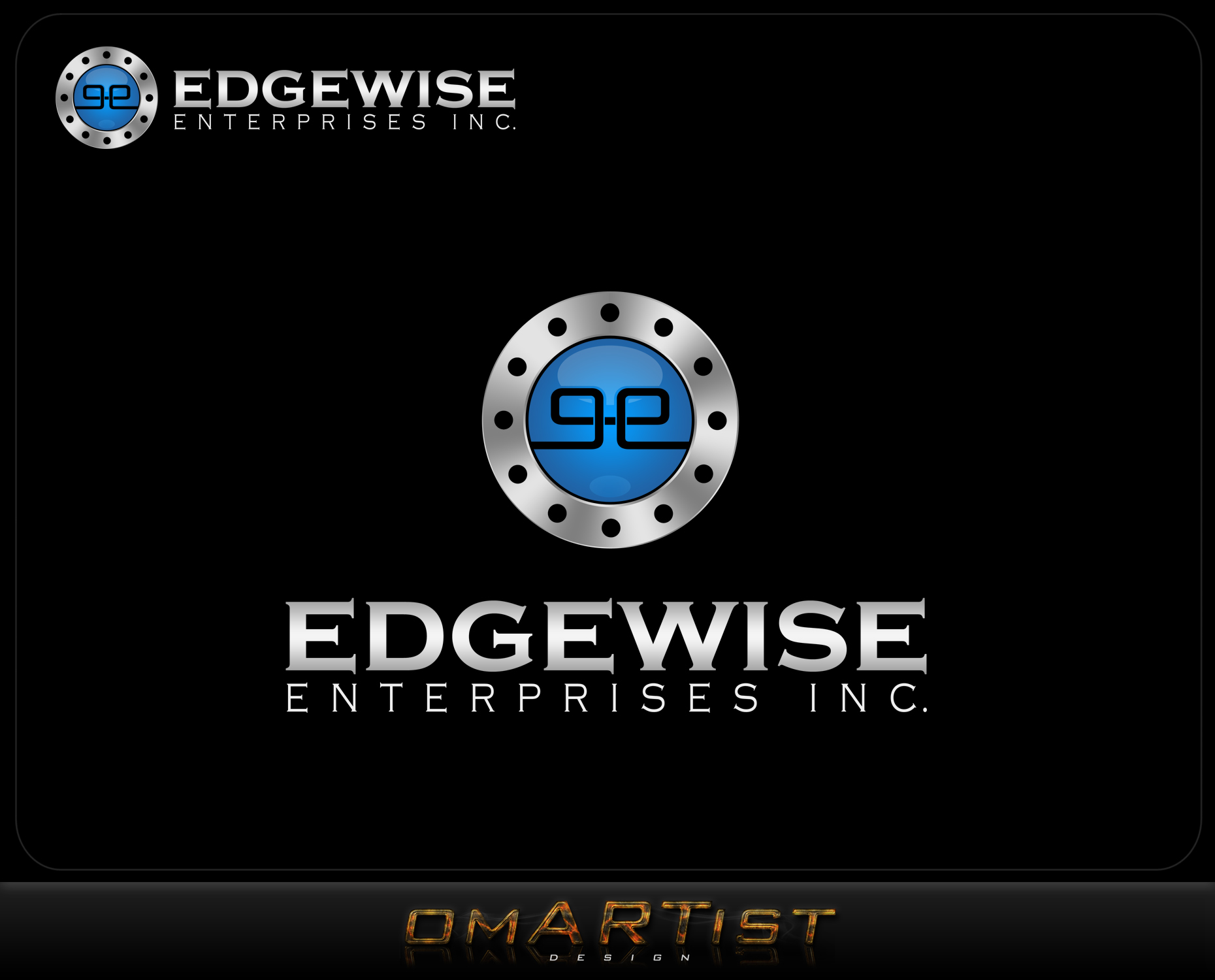 Logo Design by omARTist - Entry No. 81 in the Logo Design Contest New Logo Design for Edgewise Enterprises Inc..