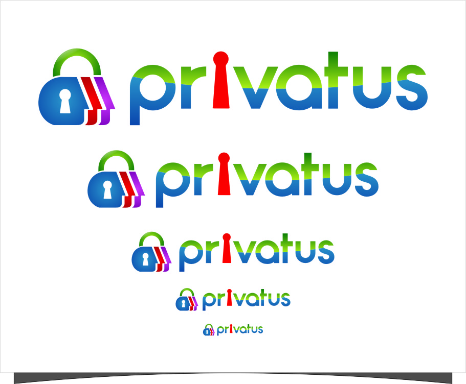 Logo Design by RasYa Muhammad Athaya - Entry No. 198 in the Logo Design Contest New Logo Design for privatus.