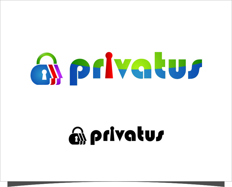 Logo Design by Ngepet_art - Entry No. 203 in the Logo Design Contest New Logo Design for privatus.