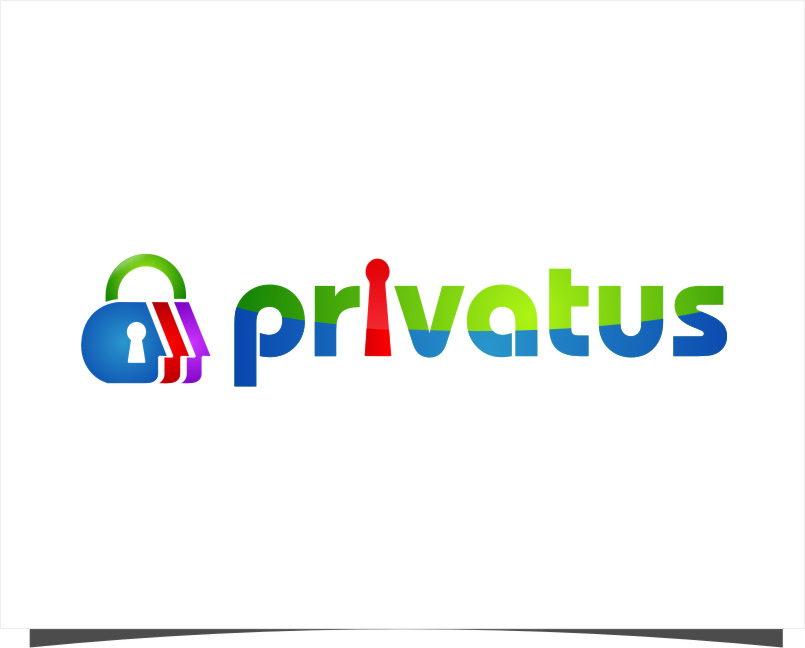 Logo Design by RoSyid Rono-Rene On Java - Entry No. 216 in the Logo Design Contest New Logo Design for privatus.