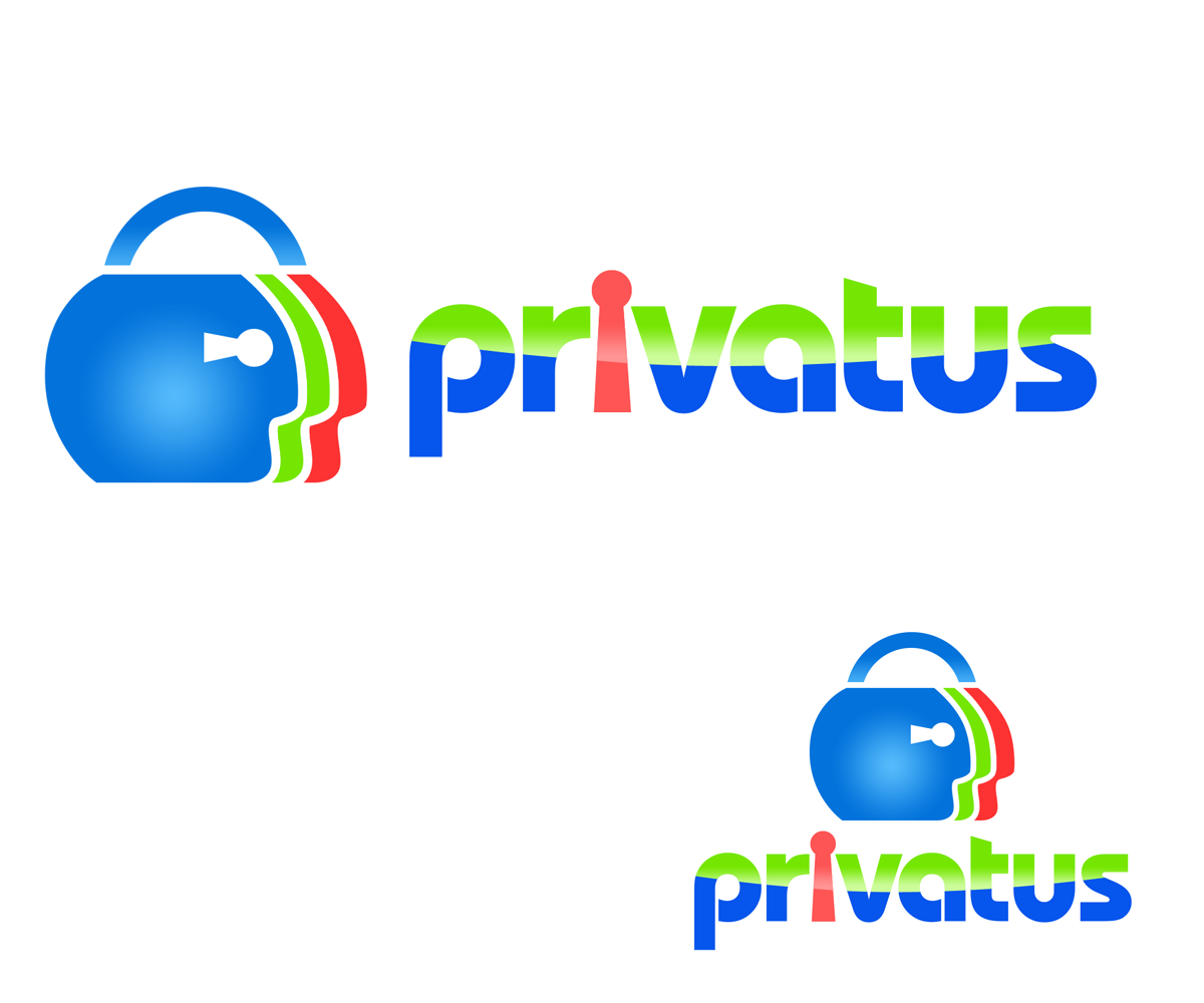 Logo Design by Robert Turla - Entry No. 220 in the Logo Design Contest New Logo Design for privatus.