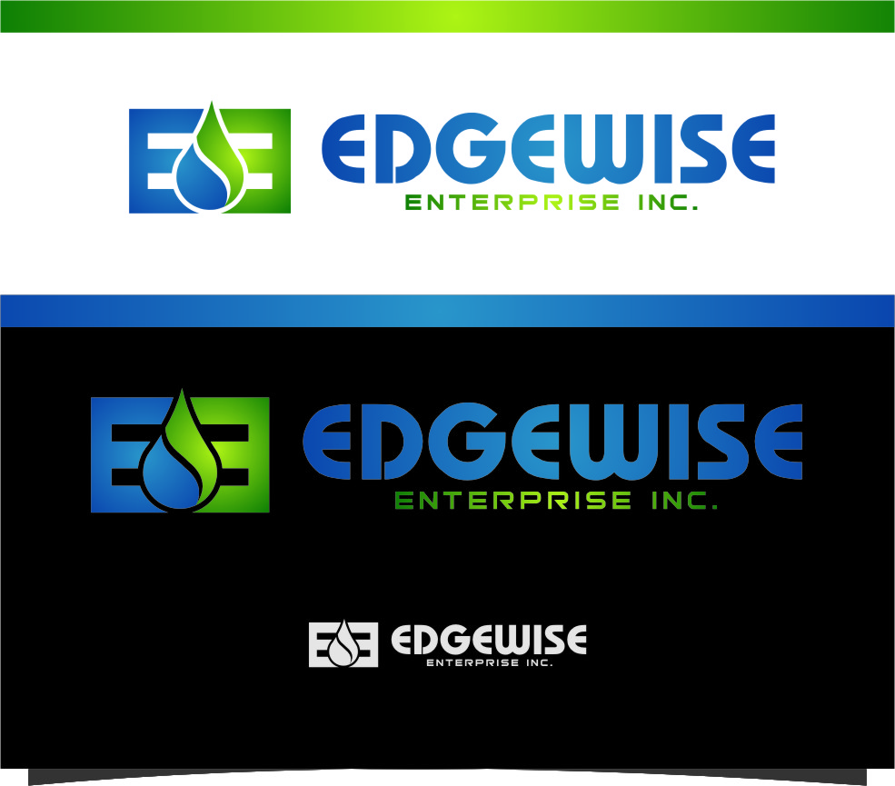 Logo Design by RasYa Muhammad Athaya - Entry No. 82 in the Logo Design Contest New Logo Design for Edgewise Enterprises Inc..