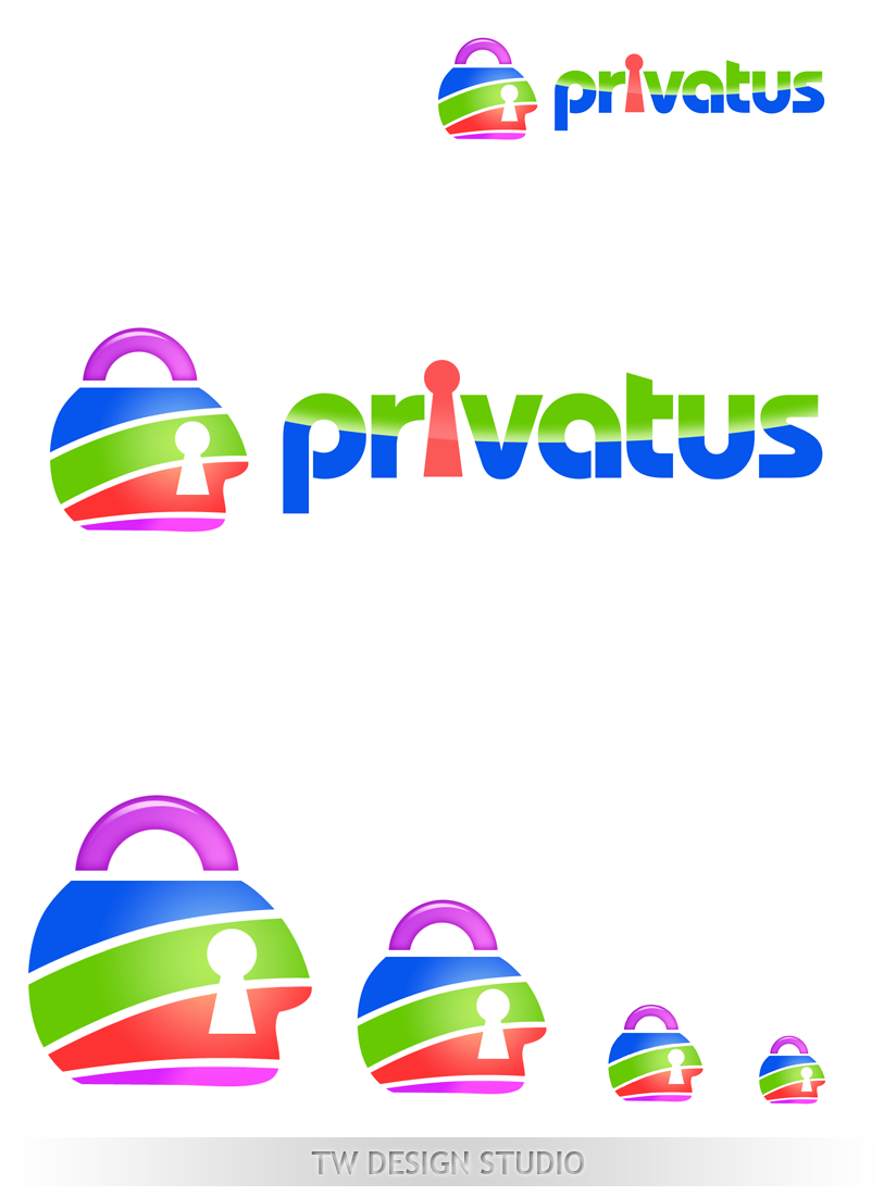 Logo Design by Private User - Entry No. 234 in the Logo Design Contest New Logo Design for privatus.