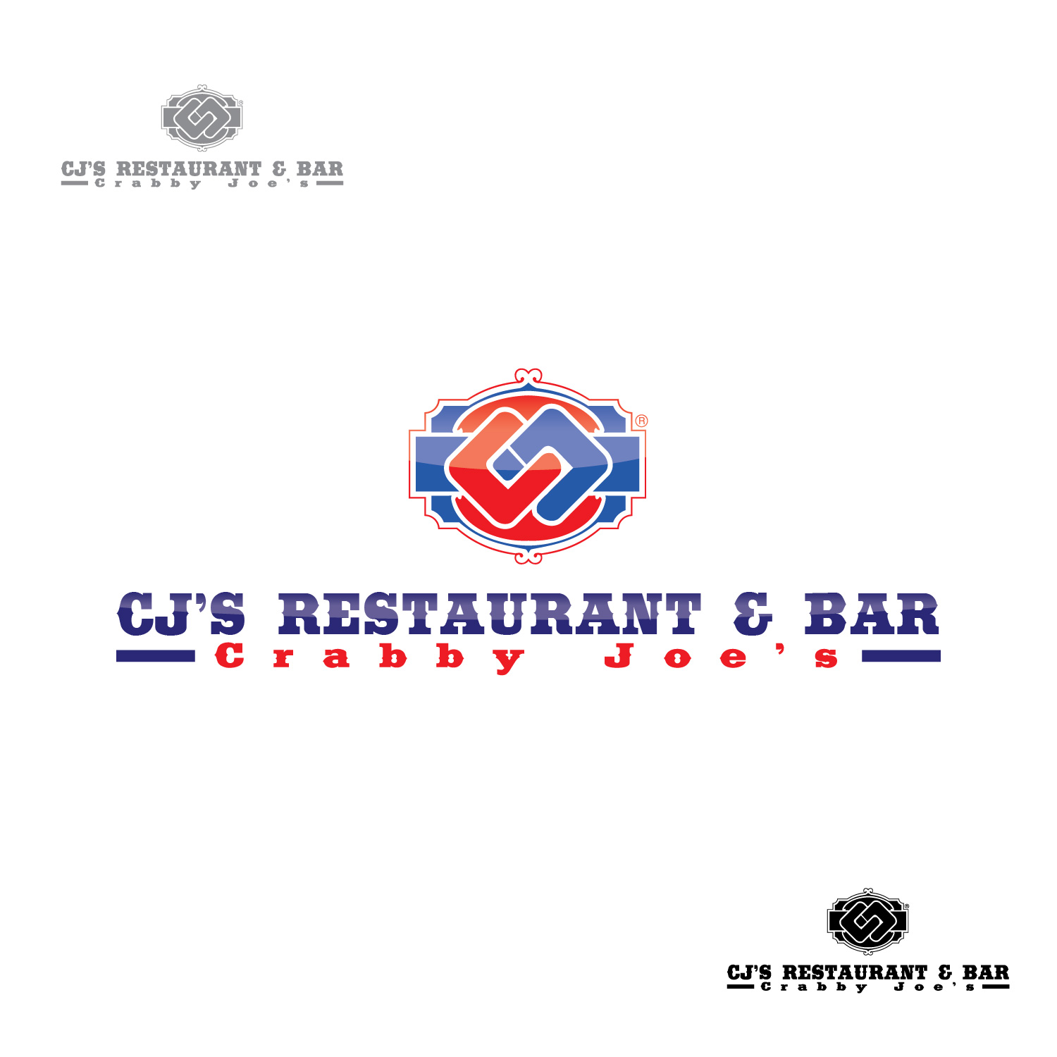 Logo Design by lagalag - Entry No. 1 in the Logo Design Contest Inspiring Logo Design for Cj's.