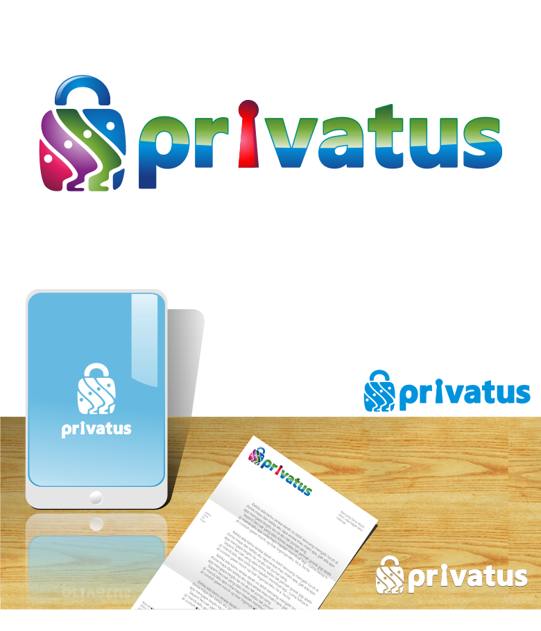Logo Design by graphicleaf - Entry No. 237 in the Logo Design Contest New Logo Design for privatus.
