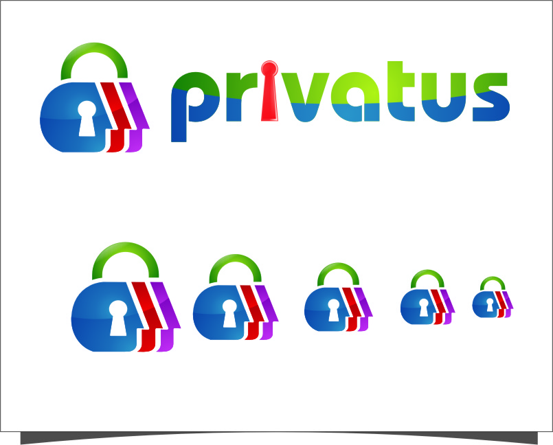 Logo Design by RoSyid Rono-Rene On Java - Entry No. 239 in the Logo Design Contest New Logo Design for privatus.