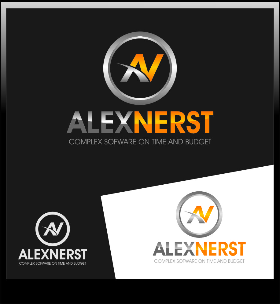 Logo Design by RoSyid Rono-Rene On Java - Entry No. 16 in the Logo Design Contest Artistic Logo Design for Alex Nerst.