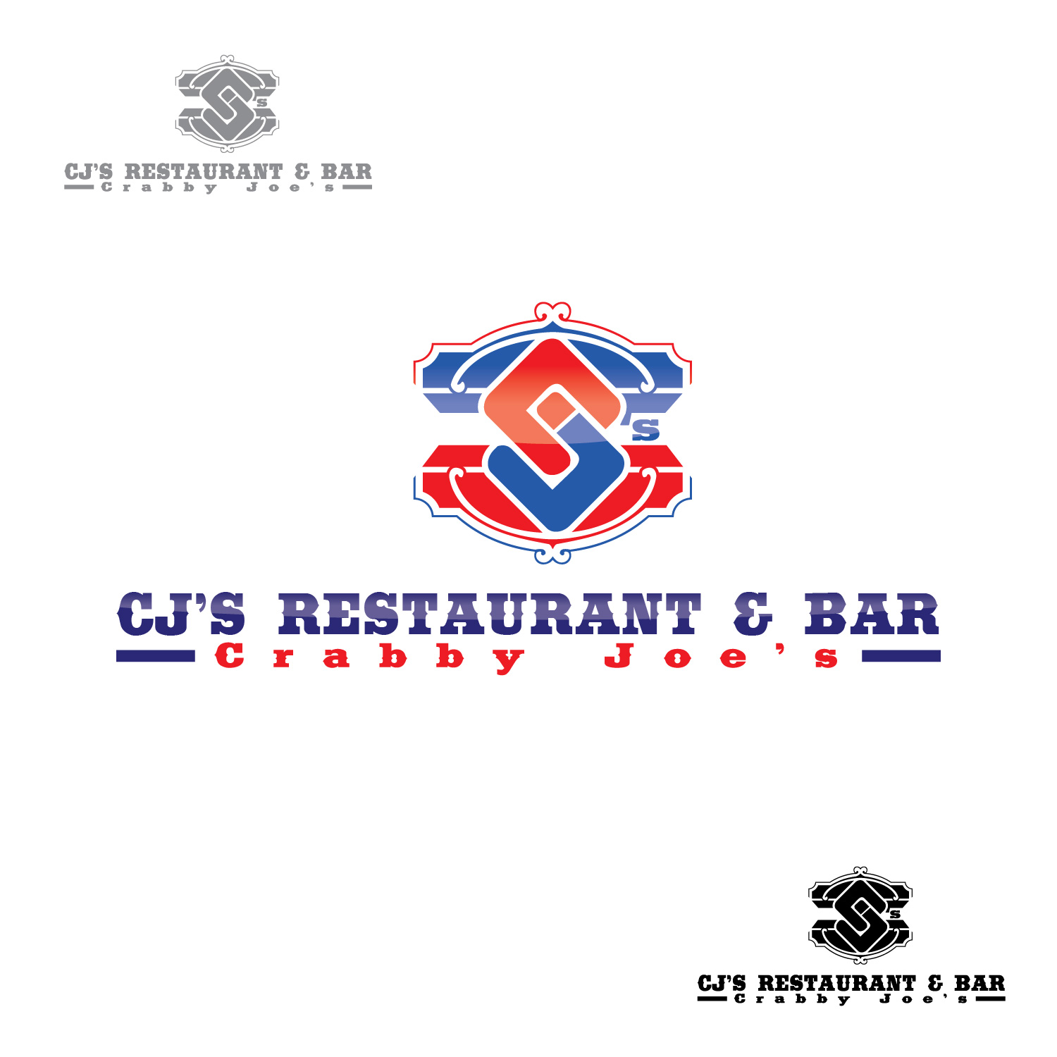 Logo Design by lagalag - Entry No. 9 in the Logo Design Contest Inspiring Logo Design for Cj's.