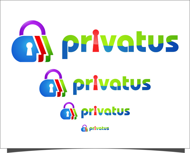 Logo Design by RasYa Muhammad Athaya - Entry No. 256 in the Logo Design Contest New Logo Design for privatus.
