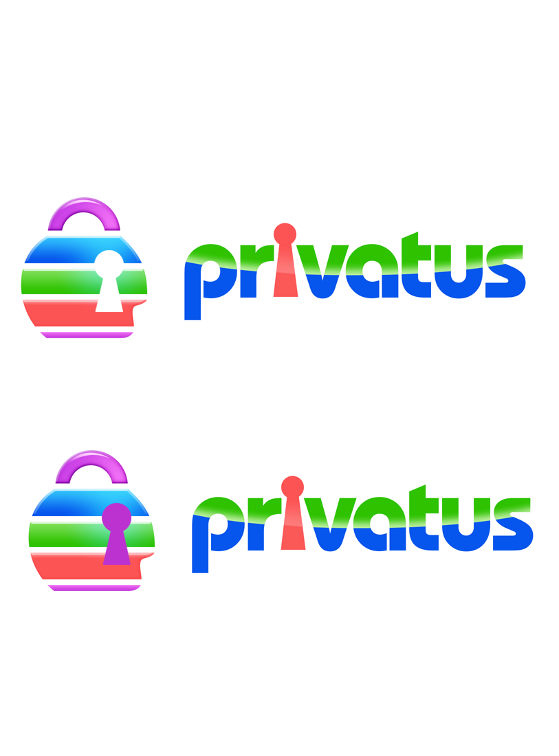 Logo Design by Robert Turla - Entry No. 257 in the Logo Design Contest New Logo Design for privatus.