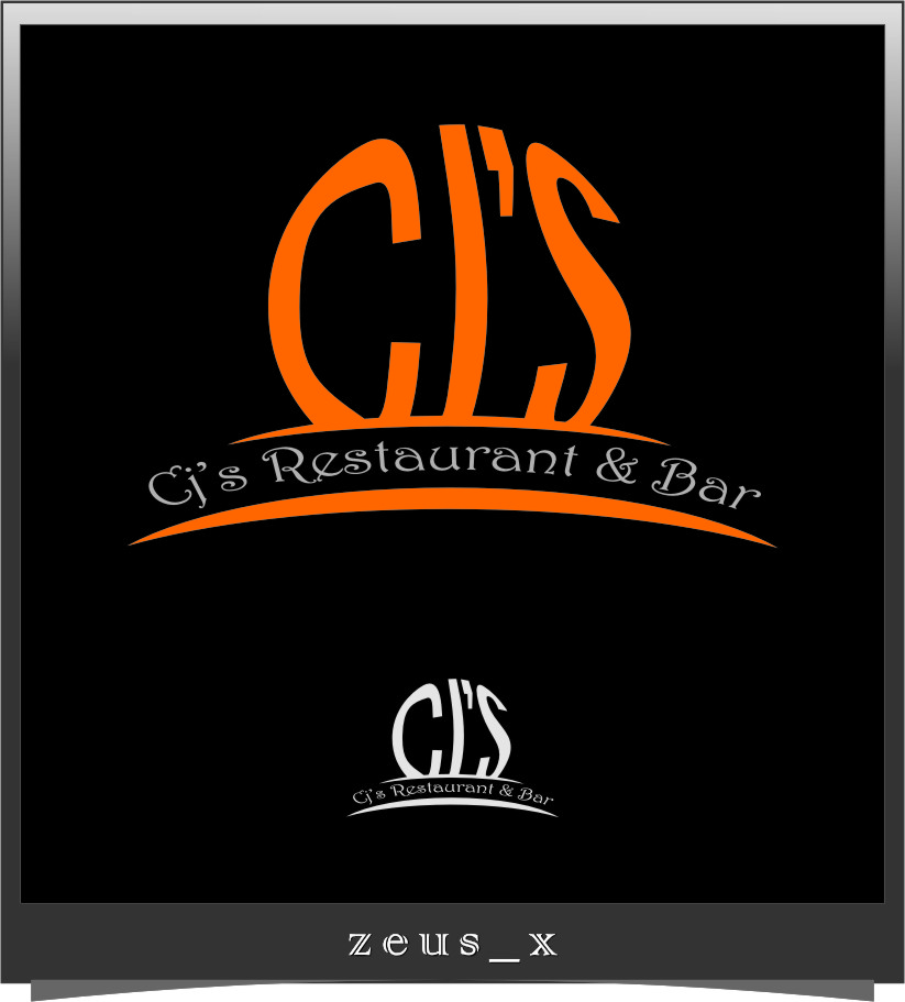 Logo Design by RoSyid Rono-Rene On Java - Entry No. 25 in the Logo Design Contest Inspiring Logo Design for Cj's.