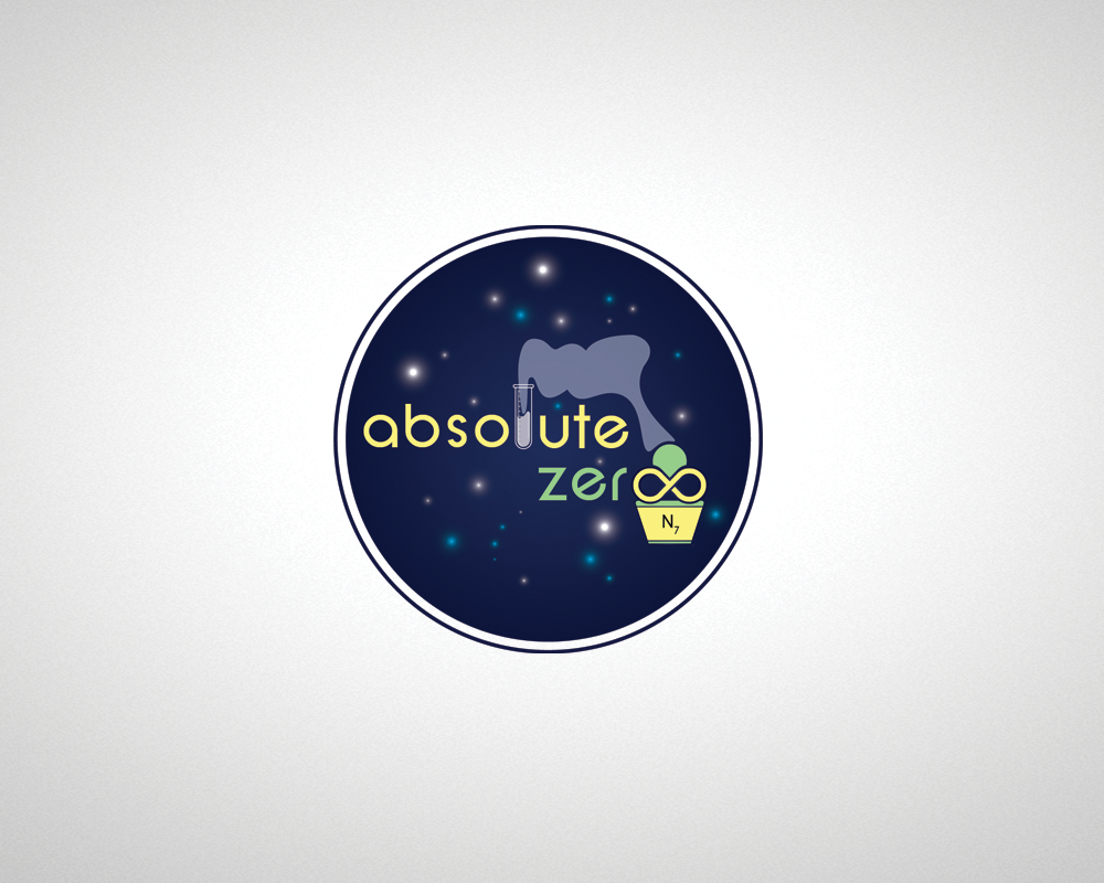 Logo Design by iwyn - Entry No. 7 in the Logo Design Contest Imaginative Logo Design for Absolute Zero.
