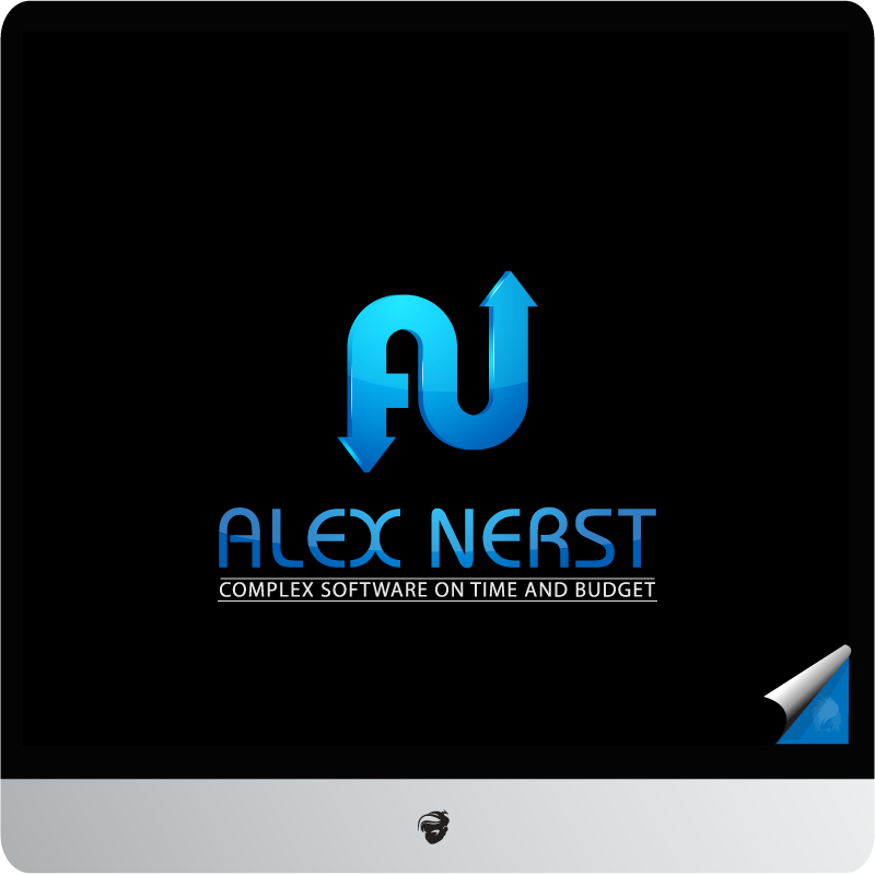 Logo Design by zesthar - Entry No. 25 in the Logo Design Contest Artistic Logo Design for Alex Nerst.